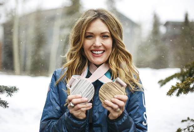 U.S. Paralympic medalist Amy Purdy, who lost both legs due to contracted bacterial meningitis, earned a silver and bronze medals in the snowboard cross and the banked slalom events at the PyeongChang 2018 Paralympic Winter Games.