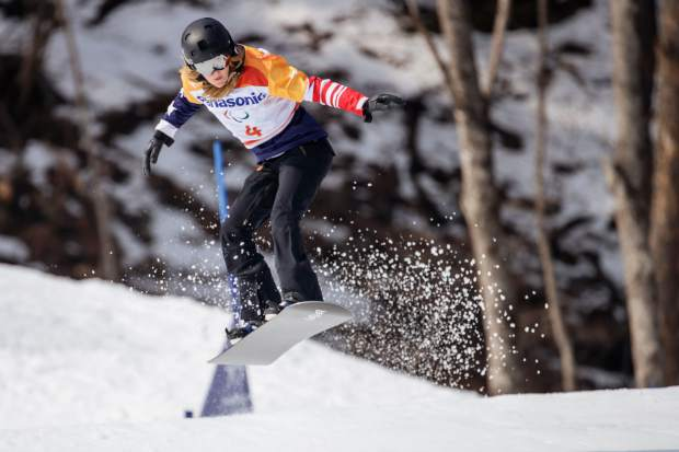 Silverthorne's own Amy Purdy won a silver medal in women's snowboard cross at the PyeongChang 2018 Paralympic Winter Games.