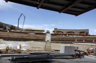 Dillon Amphitheatre's million-dollar view now has the facility to match it