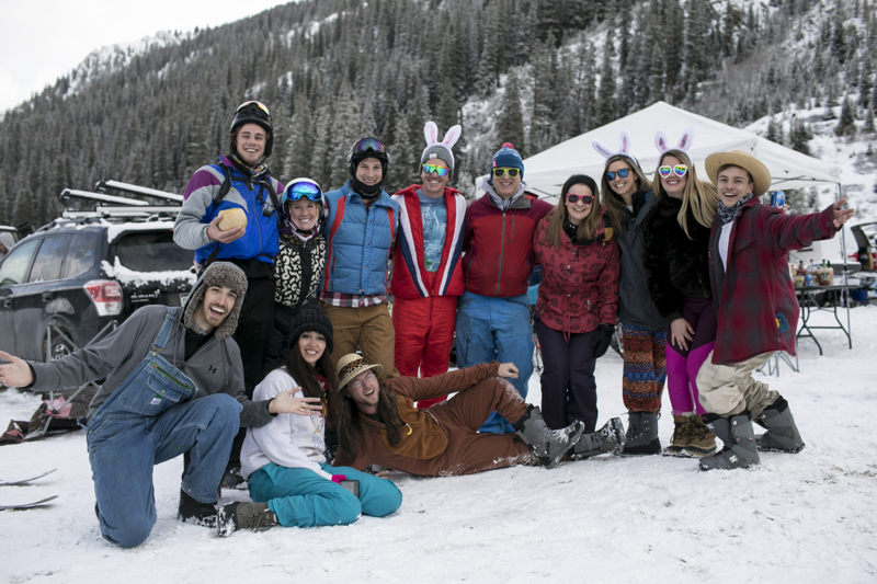 Scenes from the Gaper Day gathering Sunday, April 1, at Arapahoe Basin.