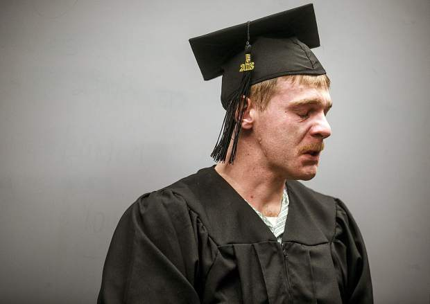Tyler Little was released several days early from the Summit County Jail after completing his GED while in custody.