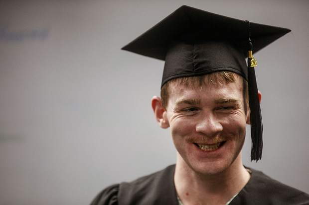 Tyler Little who earned his GED while an inmate at the Summit County Jail. A judge allowed him to be released early in light of his achievement.