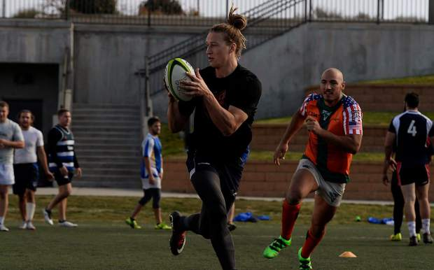 Frisco native Connor Cook is a member of the Glendale Raptors professional rugby side as the franchise embarks on the inaugural Major League Rugby season on Saturday at Infinity Park in Glendale.