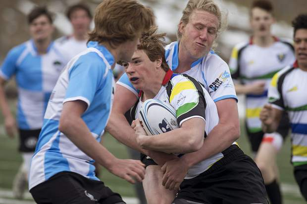 Summit Renegades rugby, consisting Summit High School students, play a home match against Mountain Vista Saturday, March 31, at the Climax Molybdenum Field at Tiger Stadium.