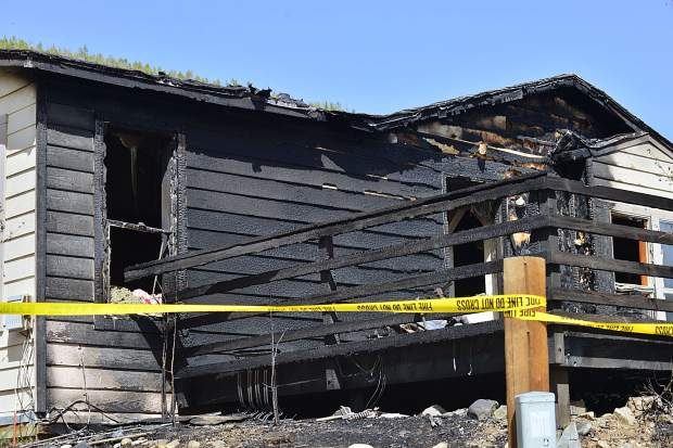 The single-family home at 106 Reliance Drive in Breckenridge suffered heavy damage in a Sunday afternoon house fire. Crews with the Red, White and Blue Fire Protection District quickly extinguished the blaze, and no injuries were reported.