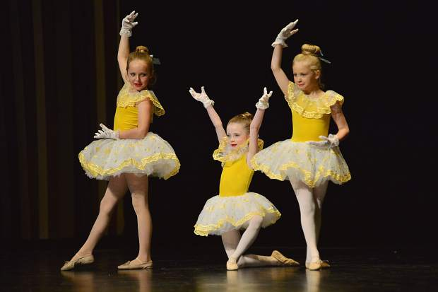 "Students from Summit School of Dance perform Sunday, May 20, during a dress rehearsal at the Riverwalk Center in Breckenridge in a program titled, ""Spring Into Dance."""