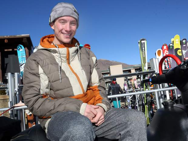 Alex Ferreira is from Aspen but credits Ski & Snowboard Club Vail coach Elana Chase with much of his development as an athlete.