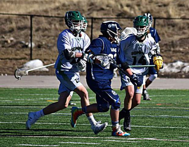 The Summit High Tigers boys lacrosse team defeated the Vail Mountain Gore Rangers twice in three days last week, including this 7-4 win at home on Thursday.