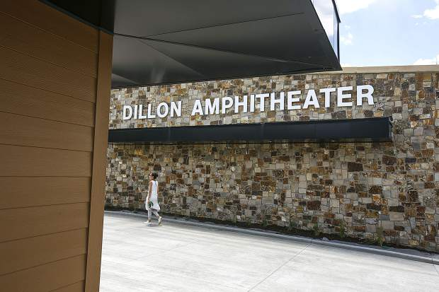 The Dillon Amphitheater seen on Wednesday, June 27, in Dillon.