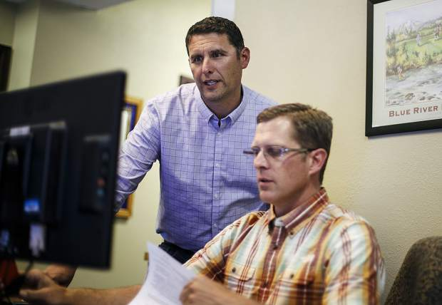 Jason Dietz, Summit Combined Housing Authority Director, in their headquarters in Breckenridge, Thursday, May 31.