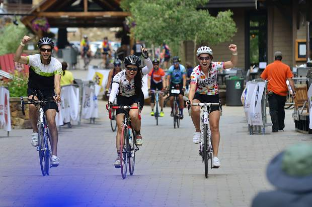 Riders participate in the 29th Courage Classic on Sunday, July 23, at Copper Mountain.