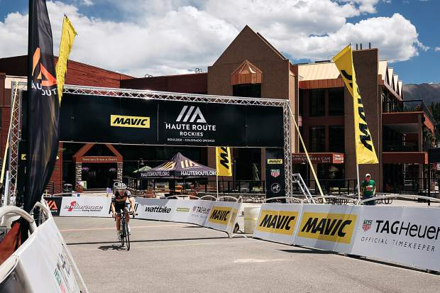Competitors return to Breckenridge on Thursday after completing a 113-mile cycling tour of Summit and Clear Creek County's as part of the seven-day Mavic Haute Route Rockies event.