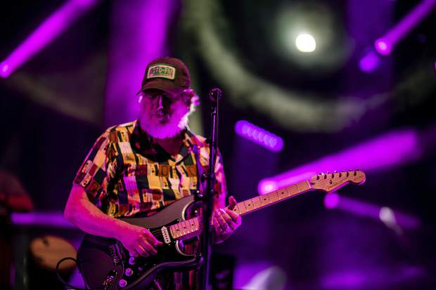 String Cheese Incident band member Bill Nershi performs at the Dillon Amphitheater Tuesday night, July 17, in Dillon.
