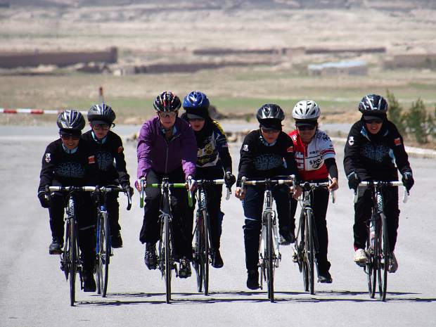 As part of her effort to grow the nascent Afghan Women's Cycling Team, Summit County local Shannon Galpin transported 450 pounds of soft bicylce gear from here in Colorado to Afghanistan.