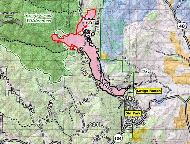 Summit Fire Ems Moves To Assist With Silver Creek Fire