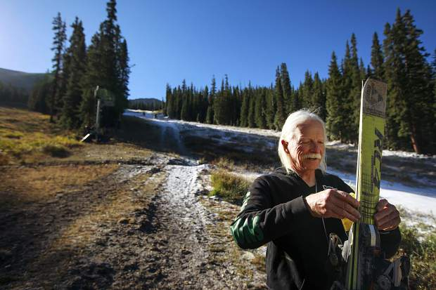 Endless winter: Silverthorne 67-year-old Steve Plummer skis Summit County for 120 consecutive months (podcast)