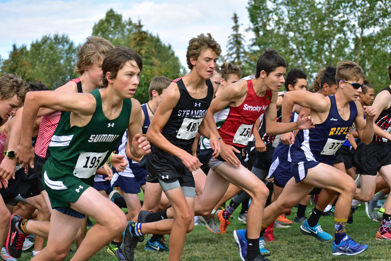The Summit High boys and girls cross-country running teams placed 8th and 11th respectively at Saturday's Battle Mountain Invitational at the Homestake Peak School in Avon.