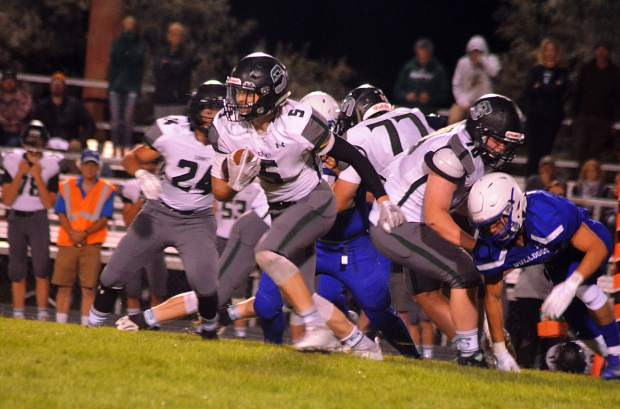 The Summit Tigers varsity football team fell to 0-2 on Friday night with a 40-7 loss at Moffat County.