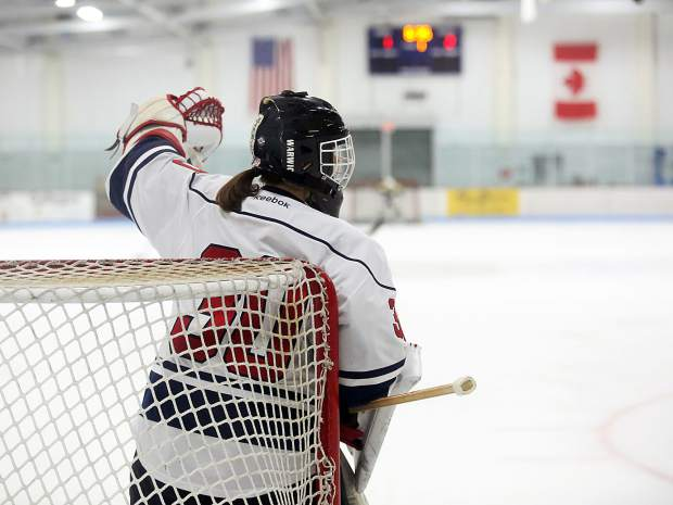 Photos from the Stirling Cup hockey game on Saturday at Lewis Ice Arena.