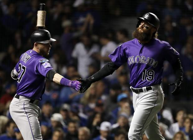 A Major League Baseball Classic Rockies Top Cubs In 13