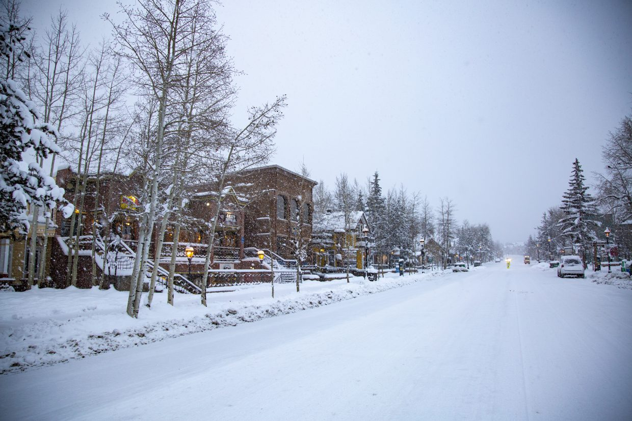 The streets of Breckenridge are blanketed with powder in the wake of consecutive snowstorms in recent days. As a result, both Breckenridge Ski Resort and Keystone Resort in Keystone will open early for the season on Wednesday, two days earlier than the originally-planned Friday.