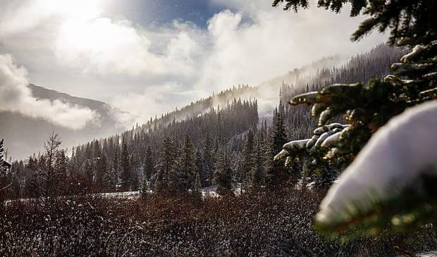 Copper Mountain Resort's opening day terrain on Friday, Nov. 16 will include top-to-bottom skiing and riding out of the resort's Super Bee lift in East Village. The open terrain will include the intermediate runs Ptarmigan, Rhapsody and Fairplay before circling back to the base of the Super Bee lift via the intermediate Skid Road run.