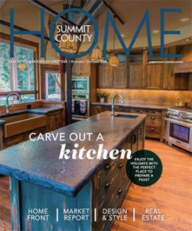 Summit County Home:  Nov/Dec 2018