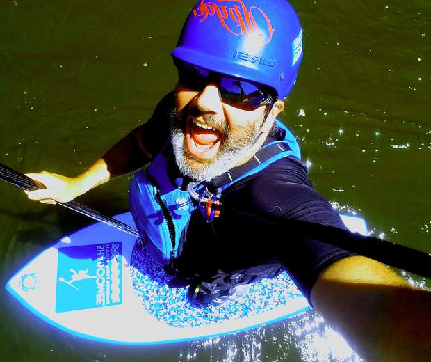 Roaring Fork Valley local Dan Kiely recently got to 100 days on a stand-up paddleboard for the 2018 season.