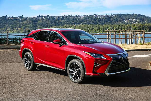 Mountain Wheels The Classy Lexus Rx 450h Helps Build Hybrid Support