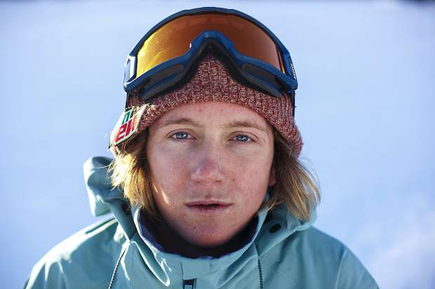 U.S. Olympic gold medalist and Silverthorne resident Red Gerard poses or a portrait photo on Friday, Dec. 14, at Breckenridge Ski Resort.