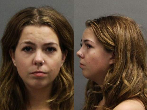 Breckenridge police accuse woman of kicking, spitting on them