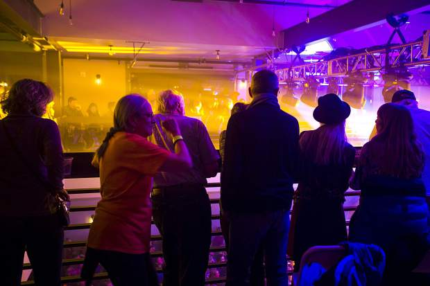 Crowds listen to The Infamous Stringdusters Friday, Dec. 28, inside the 10 Mile Music Hall in Frisco.