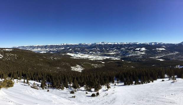 View from Breckenridge.
