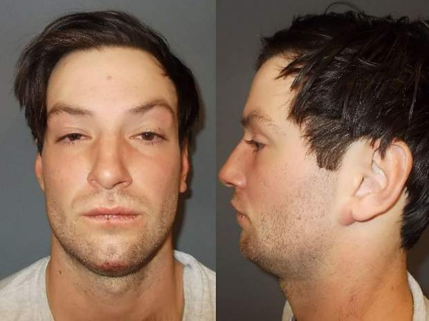 Man arrested for assault in Keystone after allegedly hitting another man in head with beer glass