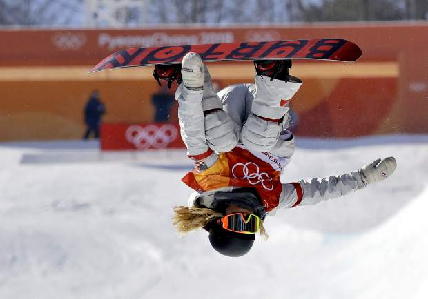 Chloe Kim, of the United States, competes in the women's halfpipe finals at Phoenix Snow Park at the 2018 Winter Olympics in Pyeongchang, South Korea in February 2018. Heading to Princeton next fall, Kim is trading her board for books as she tries to blend in and become your normal college freshman.