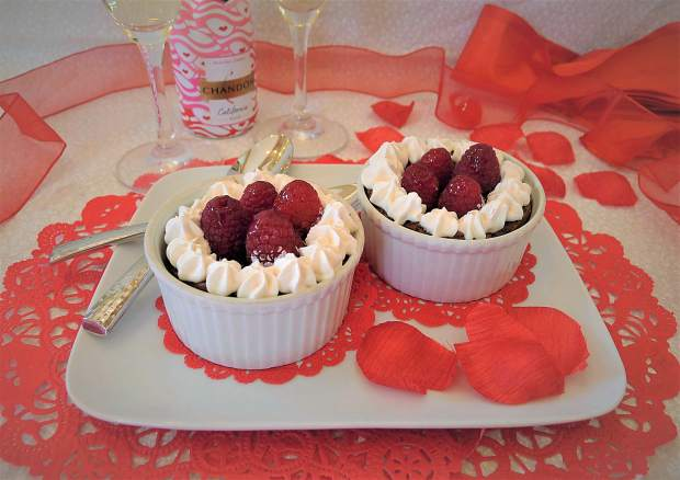 High Altitude Baking: The perfect flourless chocolate cake cups for Valentine's Day