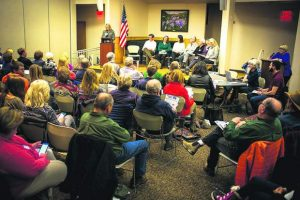 How it went down: Summit County Democrats hear from eight candidates before picking Gibbs' successor
