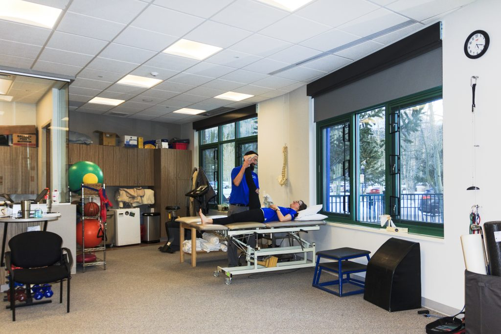 Avalanche Physical Therapy has been operating at the Breckenridge Recreation Center since the center opened in the early 1990s. Photos by Priscilla Balderas