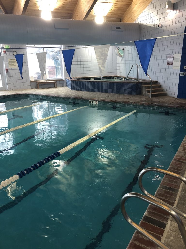 Therapists and patients at Avalanche Physical Therapy also have access to the aquatics facility at the Breckenridge Recreation Center. Courtesy of Avalanche Physical Therapy