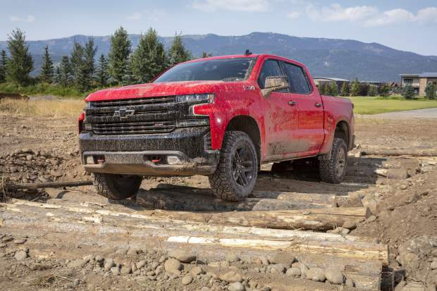 Mountain Wheels: Chevy Silverado's Trail Boss edition highlights a much-updated pickup