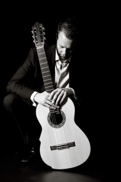 Classic guitarist Colin McAllister will perform his