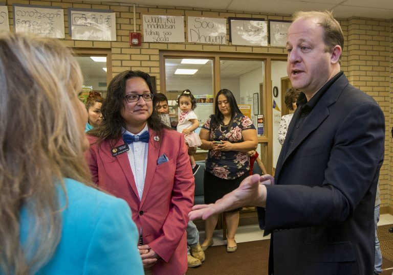 Colorado Gov. Jared Polis doesn't rule out legal action against Trump administration
