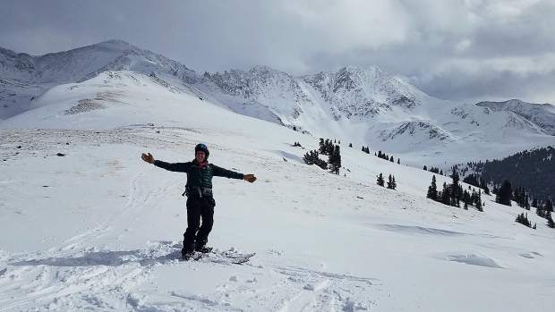 The look of happiness from a student in our Splitboard Specific AIARE Avalanche Level 1 Course!