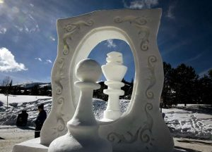 Photos from the International Snow Sculpture Championship