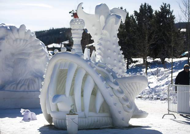 Breckenridge International Snow Sculpture Championships Downsizing To Just One Sculpture In 2021 Summitdaily Com