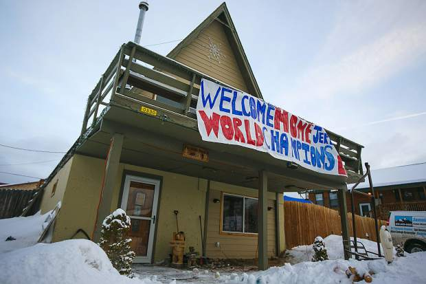 Home of the Vaille family of Summit Cove Friday, Jan. 11.