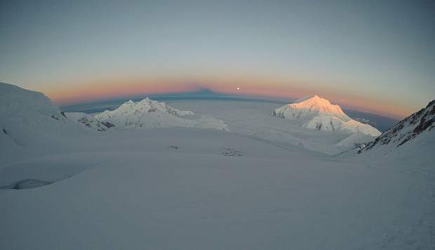 Breckenridge resident Pat Gephart took this photo from the 14,000-foot camp that is 6,000 vertical feet below the summit of Denali, North America's highest point.