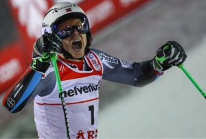 Norway's Kristoffersen topples a sick Hirscher to win GS at Worlds