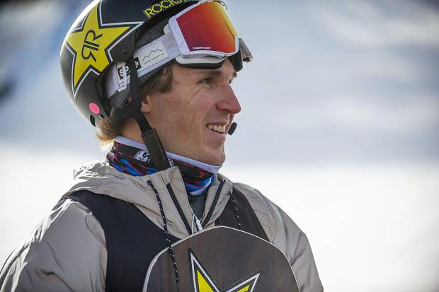 Chris Corning of Silverthorne smiles at Winter X Games Aspen at Buttermilk Mountain in Aspen in January. Corning finished in fourth place at Saturday's X Games Norway snowboard big air competition.