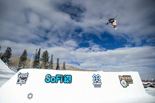 Kelly Sildaru of Estonia won her third Aspen X Games slopestyle gold medal on Friday with a 99-point run. The 16-year-old won silver on Thursday night in the superpipe and will compete Friday night in the big air.